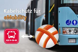 Kabelschutzschlauch für Emobility